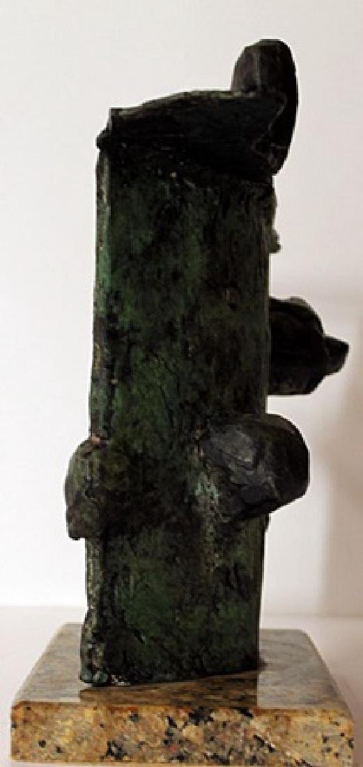 Limited Edition Patina Bronze Sculpture - Joan Miro - 2
