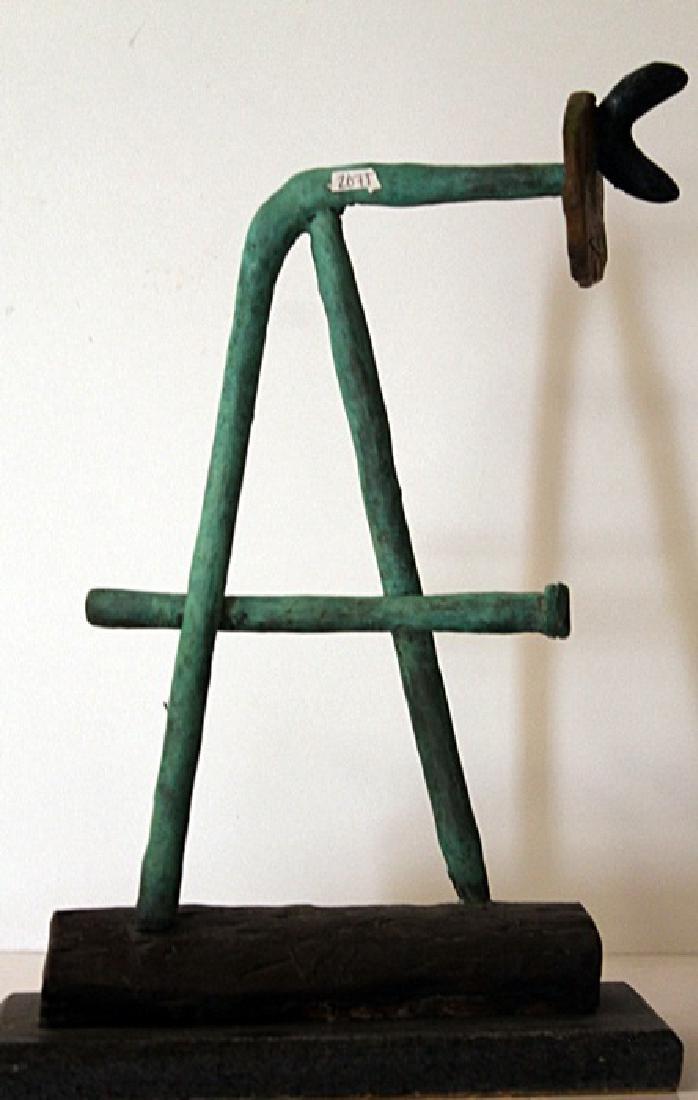 Patina Bronze Sculpture - Joan Miro