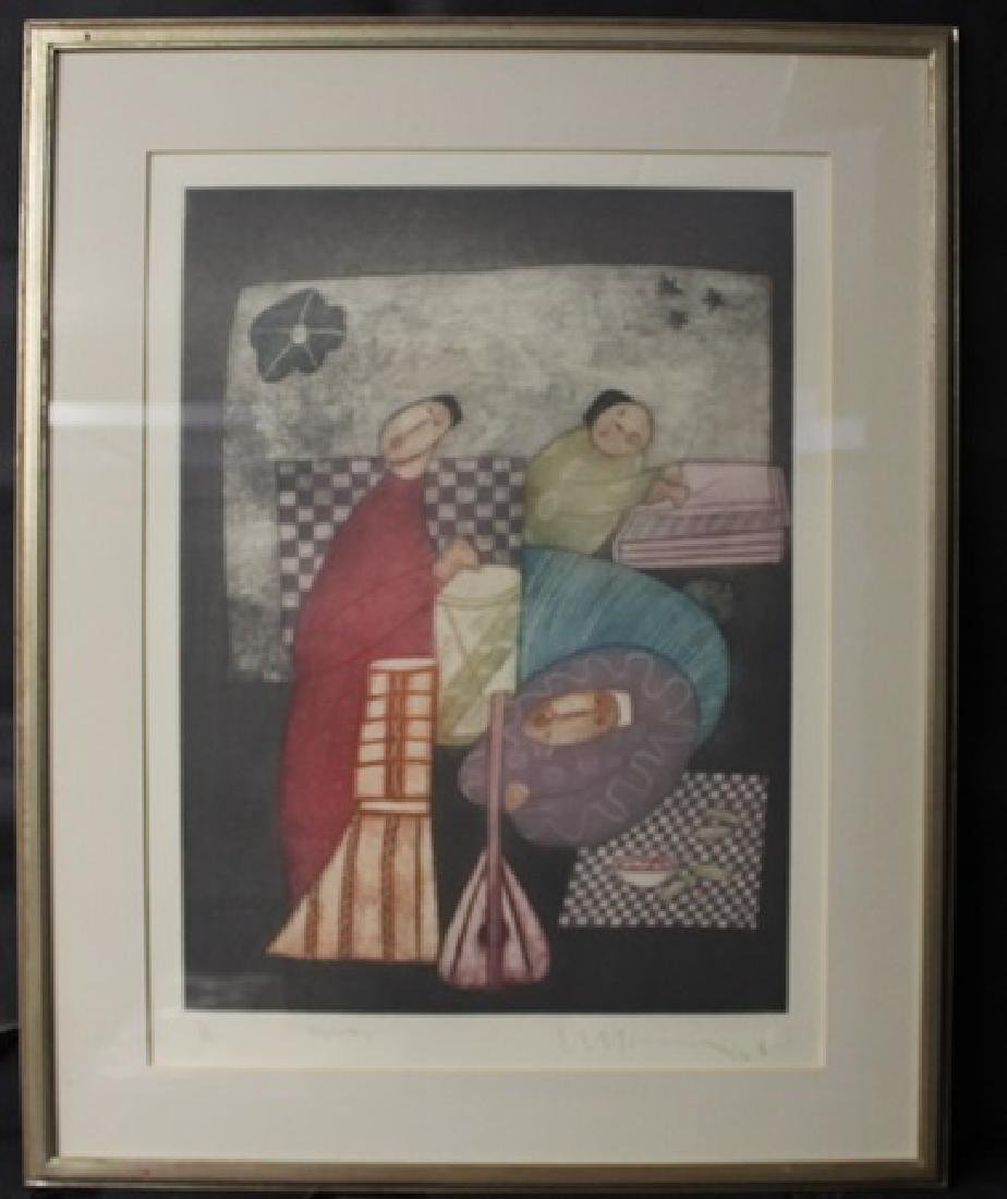 Lithograph, Signed By the artist(N)