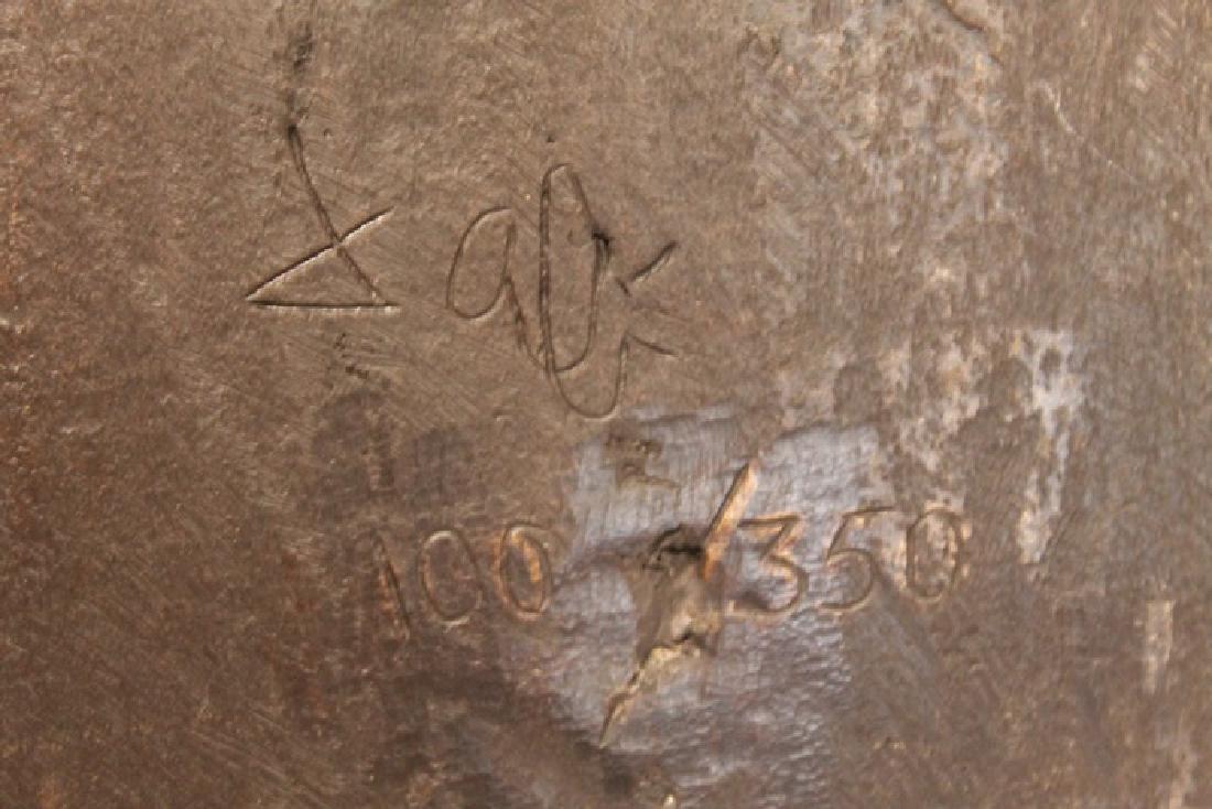Nude - Patina Bronze Sculpture - Salvador Dali - 3