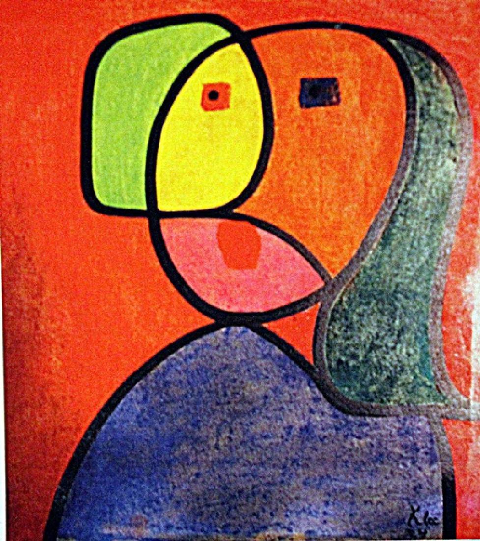 Paul Klee - Portrait of a Woman