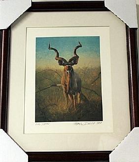 Framed  Peter Darro Limited Edition Lithograph (6E-EK)