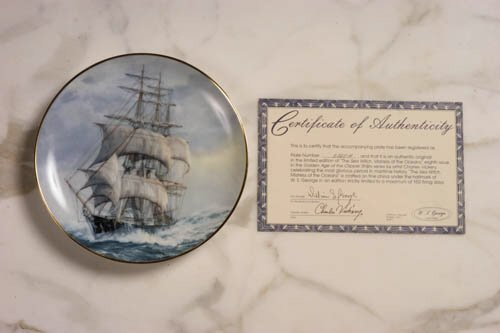 1: Sea Witch Plate - Double Signed