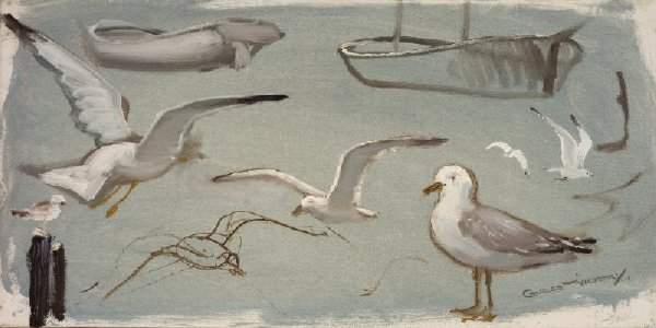 13: Art of Seagulls - Lesson Painting