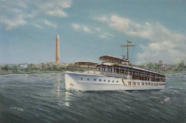 22: Scott's ' Presidential Yacht - The Sequoia'