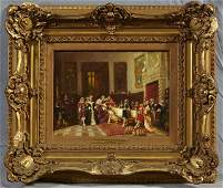 "Continental School, ""Grandee's Reception in Granada,"