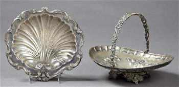 Two Silver Plated Serving Pieces early 20th c