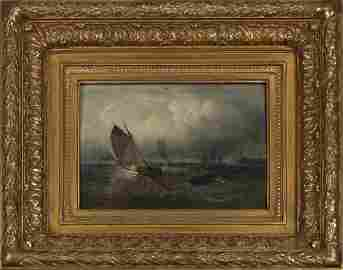 """French School, """"Rough Seas Off the Coast,"""" and """"Boats"""