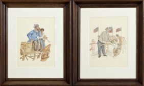 """Leon Fremaux, """"the Rag Man,"""" And """"the Bottle Man,"""" 20th"""