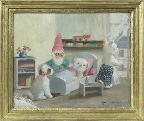 "Bernadette Pate, ""the Stuffed Animal Hospital,"" 20th"