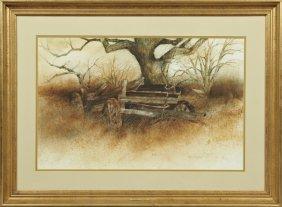 """Carol Pigott Hardy, """"the Old Farm Wagon,"""" 1978,"""