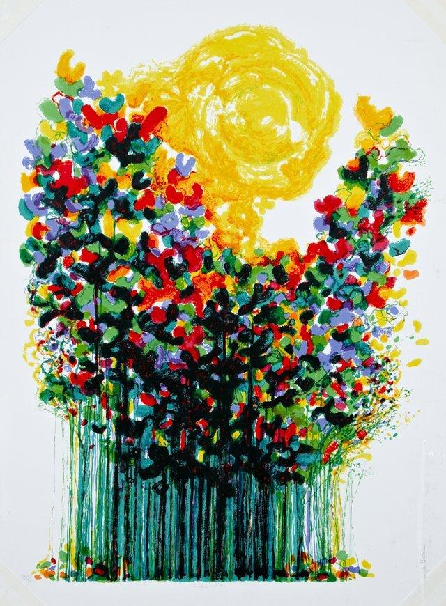 """Ronald J. Christenson (1923- ), """"Sunshine Butterflies,"""""""