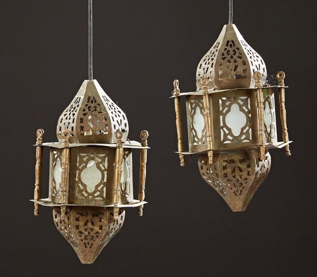 Group of Four Moroccan Items, 20th c., consisting of a - 2