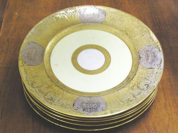 506: Minton Plates Set of Six