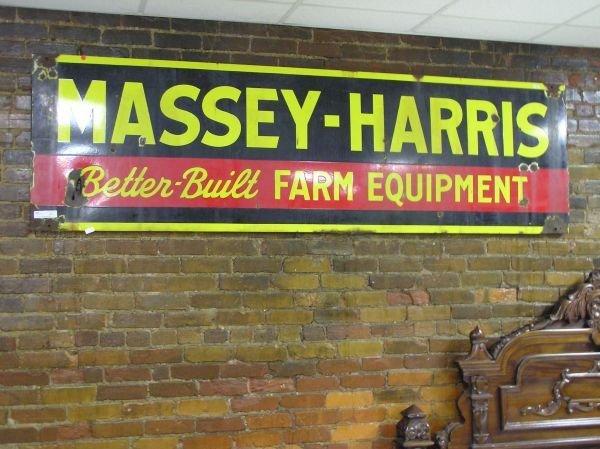 512: Massey Better Built Farm Equipment Advertising Sig