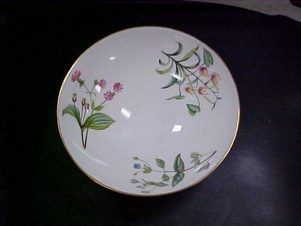 3: Minton floral bowl