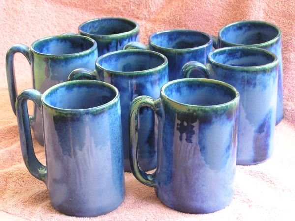 617: SET OF W.J. GORDY MUGS