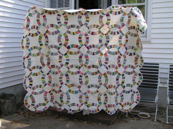 645: Handmade quilt