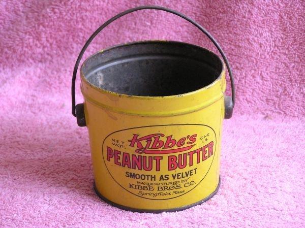 830: KIBBE'S PEANUT BUTTER TIN BUCKET