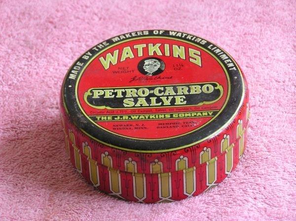 834: WATKIN'S PETRO-CARBO SALVE