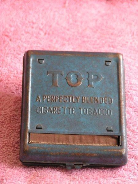 835: TOP CIGARETTE TOBACCO CONTAINER
