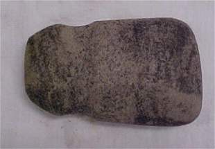 """Indian artifact 4"""" grooved axe"""