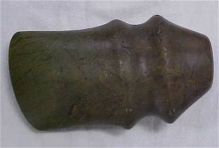 """Indian artifact 6"""" grooved axe"""