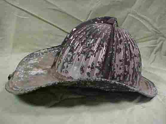 Vintage fireman's hat