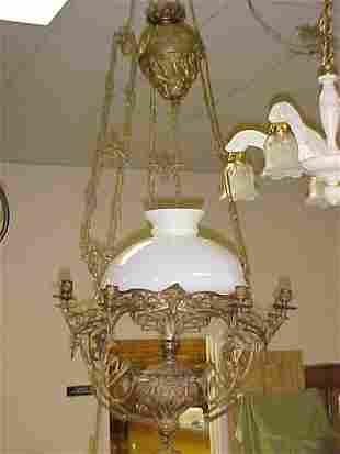 Victorian era hanging lamp