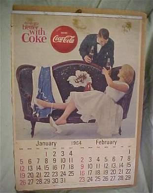 1964 coke calendar