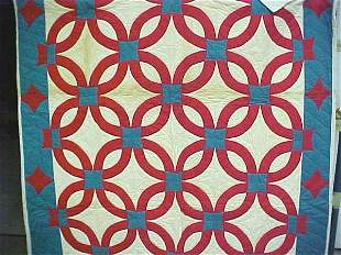 Early hand crafted quilt