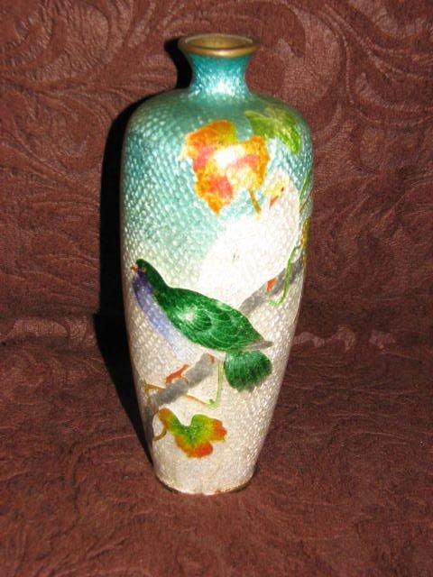 2: Cloisnes vase