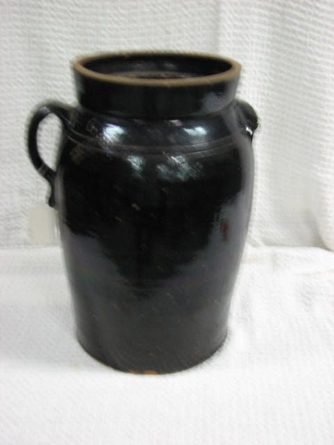 3: Signed .W.T.B. Gordy 6 gallon churn Soutern Pottery