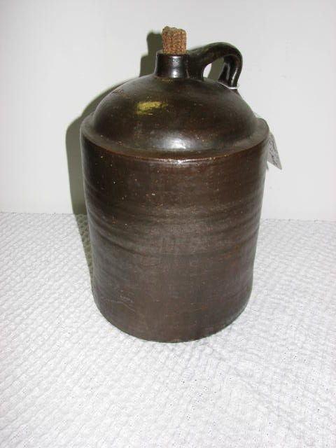 7: Signed J.L. Smith 2 gallon jug Southern Pottery