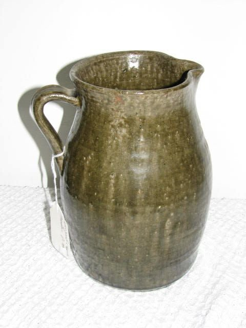 11: Unsigned Cheever  Meaders 1 gallon pitcher Southern