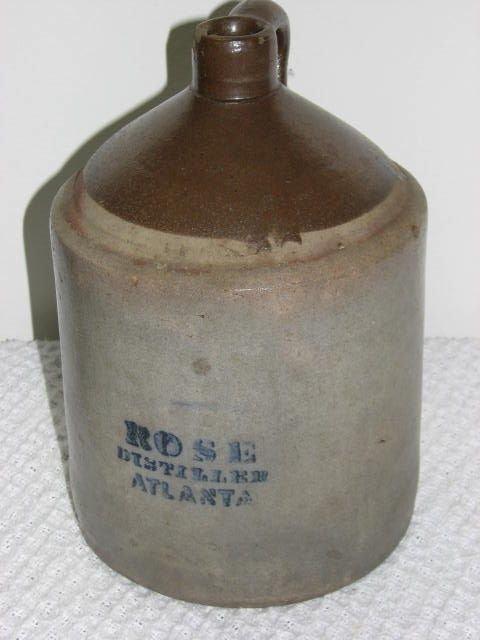 14: R.M. Rose Distillery Atlanta Ga 1 gallon jug.
