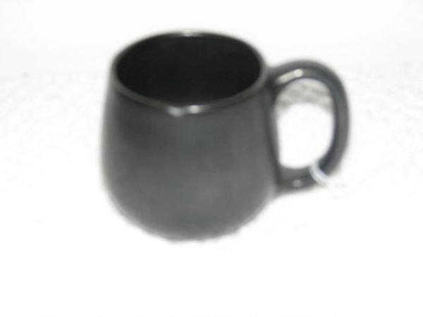 22: W.J. Gordy black glaze cup