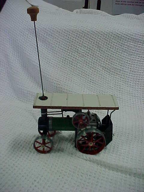 4: Mamod steam tractor includes fuel box