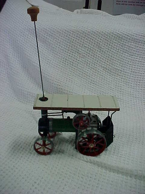 4: Mamod steam tractor includes fuel box