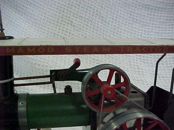 4: Mamod steam tractor includes fuel box - 3
