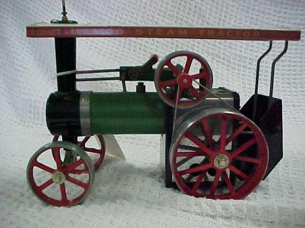 4: Mamod steam tractor includes fuel box - 4