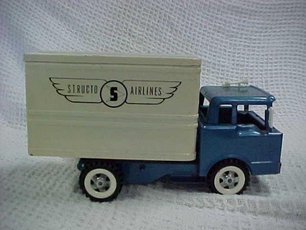 5: Structo ford Hi-lift Airlines box van
