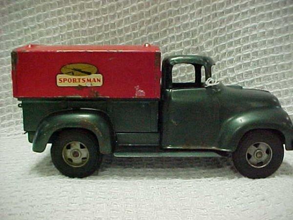 1503: 1957 Tonka Sportsman p/u w/Smith Miller Wheels