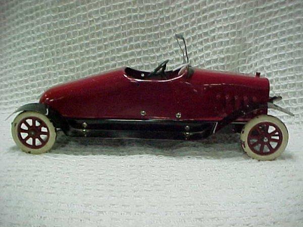 1505: Rare Structo Wind up Clockworks car restored