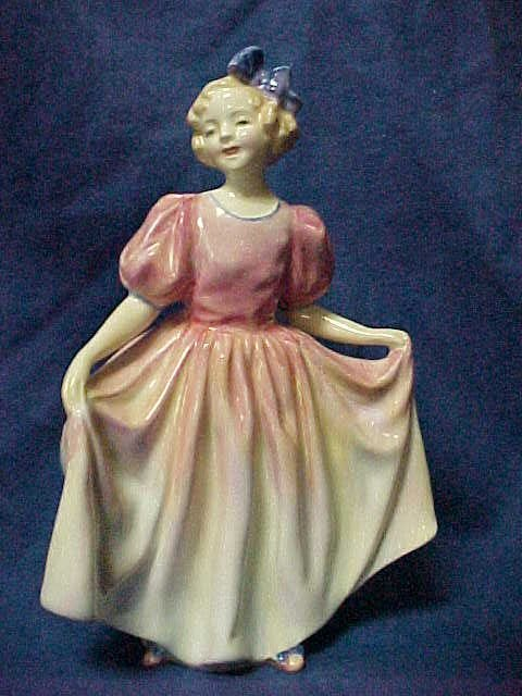 "3004: Royal Doulton Figurine ""Sweeting""."