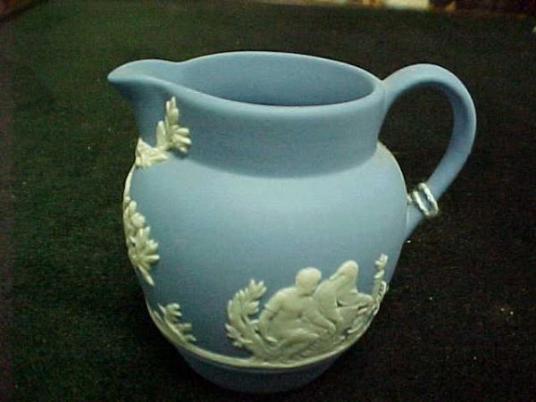 3009: Jasperware Wedgewood pitcher