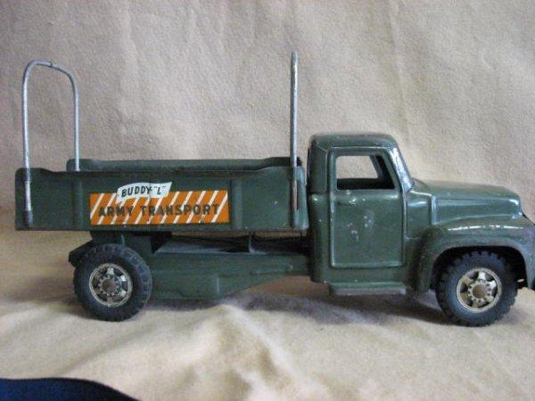 21: Buddy L Army truck