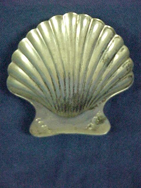 216: Tiffany Sterling silver shell dish