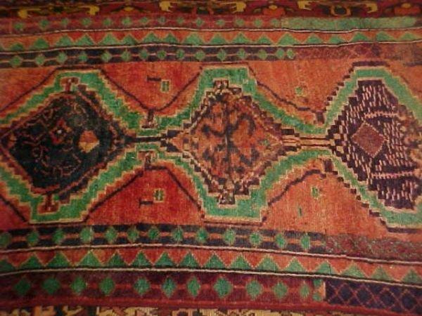 1: (9193) Hamadan handmade wool Persian Rug