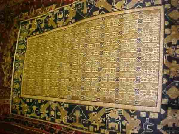 (8810) Gabeh handmade wool Persian Rug